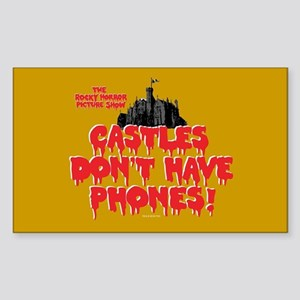 Rocky Horror Castles Sticker (Rectangle)