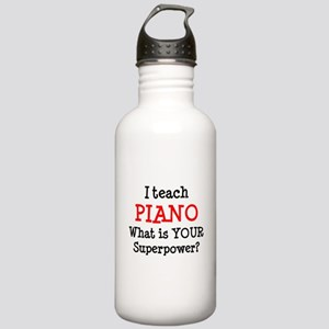 teach piano Stainless Water Bottle 1.0L