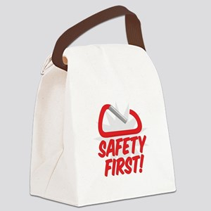 Safety First Canvas Lunch Bag