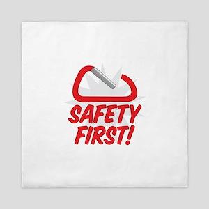 Safety First Queen Duvet