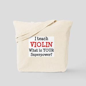 teach violin Tote Bag