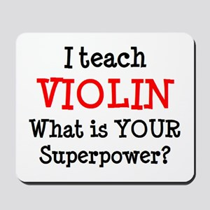 teach violin Mousepad