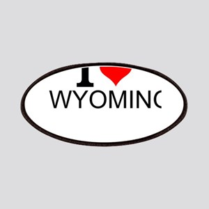 I Love Wyoming Patch