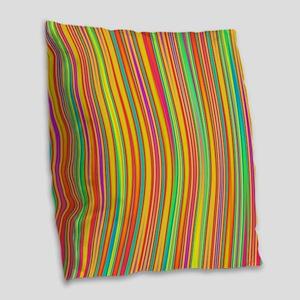 Abstract 120716(010) Burlap Throw Pillow