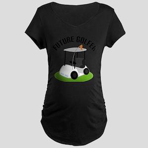 Future Golfer Maternity T-Shirt