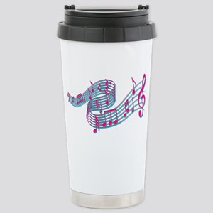Flowing music Stainless Steel Travel Mug
