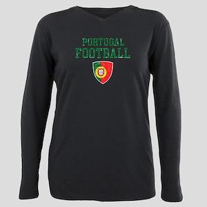 Portugal football Plus Size Long Sleeve Tee