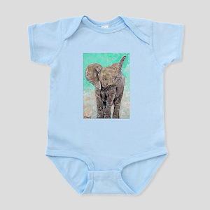 Baby Elephant Body Suit