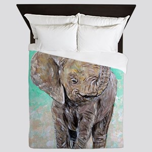Baby Elephant Queen Duvet