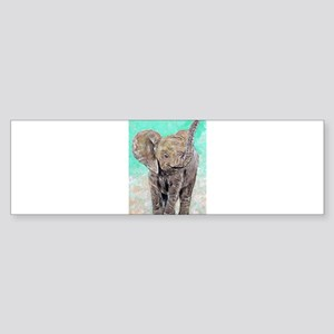 Baby Elephant Bumper Sticker