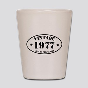 Vintage Aged to Perfection 1977 Shot Glass