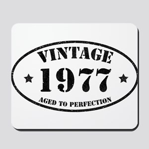 Vintage Aged to Perfection 1977 Mousepad