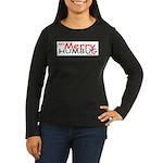 Merry Humbug Women's Long Sleeve Dark T-Shirt