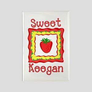 Sweet Keegan Rectangle Magnet
