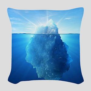 Iceberg Woven Throw Pillow