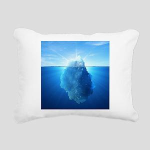 Iceberg Rectangular Canvas Pillow