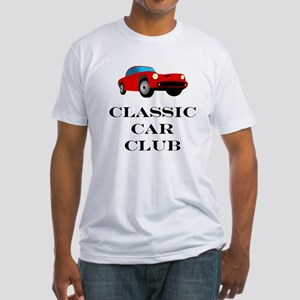 Classic Car Club Fitted T-Shirt