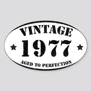 Vintage Aged to Perfection 1977 Sticker