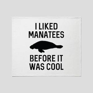 I Liked Manatees Stadium Blanket