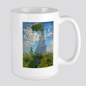 Woman with A Parasol by Claude Monet Mugs