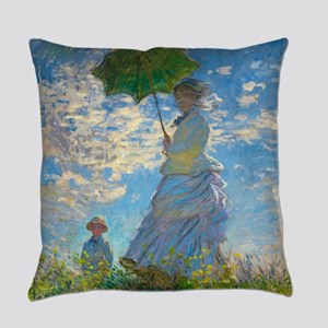 Woman with A Parasol by Claude Monet Everyday Pill