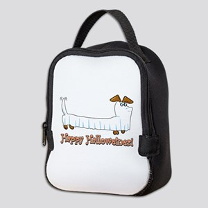 Happy Halloweiner Neoprene Lunch Bag