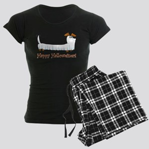 Happy Halloweiner Women's Dark Pajamas