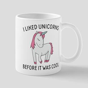 I Liked Unicorns Mug