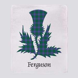 Thistle - Ferguson Throw Blanket