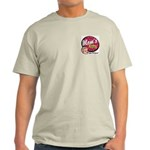 Mom's Diner Ash Grey T-Shirt