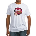 Mom's Diner Fitted T-Shirt