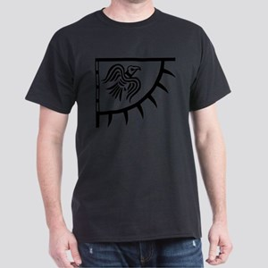 Viking Black Raven Banner T-Shirt