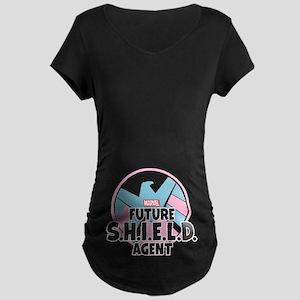 Future SHIELD Agent Maternity Dark T-Shirt