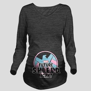 Future SHIELD Agent Long Sleeve Maternity T-Shirt