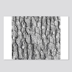 Bark Pattern Postcards (Package of 8)
