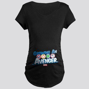 Growing An Avenger Maternity Dark T-Shirt
