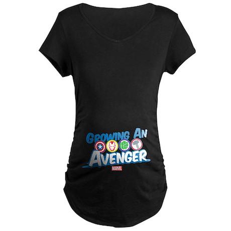 Growing An Avenger Maternity Dark T-Shirt