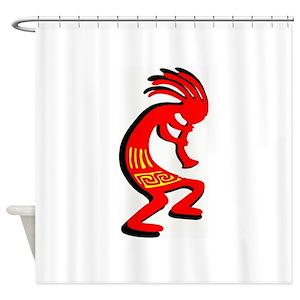 Kokopelli Shower Curtains