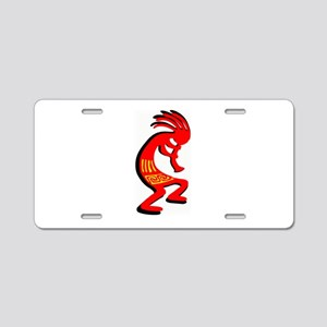 KOKOPELLI Aluminum License Plate