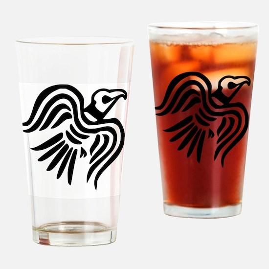 Cute Viking ship Drinking Glass