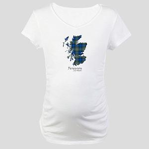 Map - Ferguson of Atholl Maternity T-Shirt