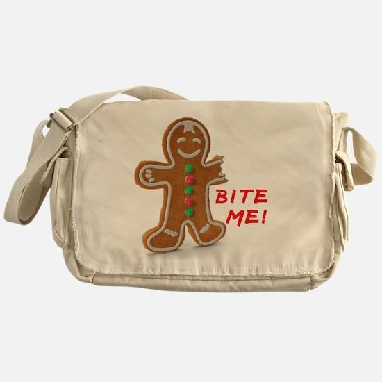 Funny Bite Messenger Bag