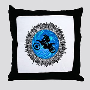 MOTO Throw Pillow