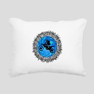 MOTO Rectangular Canvas Pillow