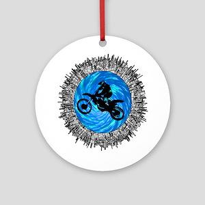 MOTO Round Ornament