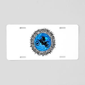 MOTO Aluminum License Plate