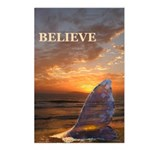 BELIEVE WHALE Postcards (Package of 8)
