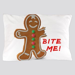 Gingerbread Person Cookie Pillow Case