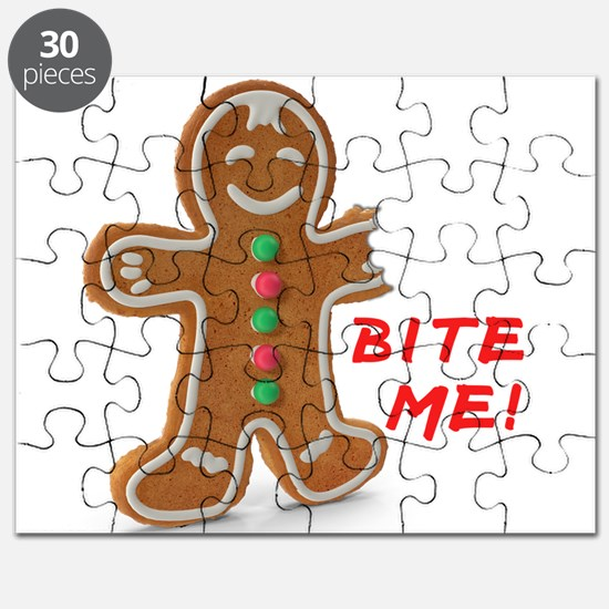 Gingerbread Person Cookie Puzzle