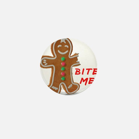 Gingerbread Person Cookie Mini Button